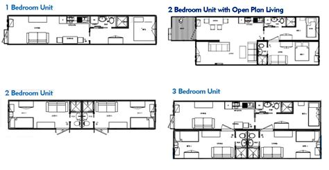 intermodal shipping container home floor plans below are