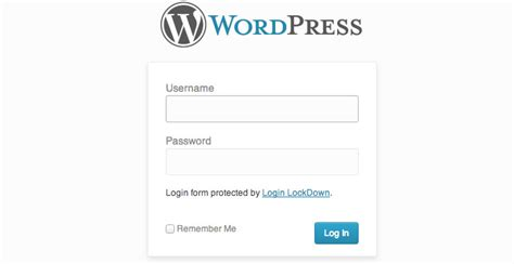 Custom Wordpress Login Page