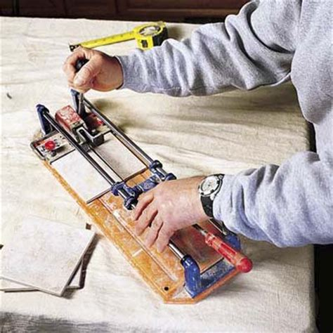 cut tiles to fit how to install a tile backsplash this