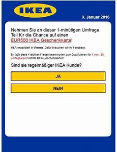 Ikea Gutschein Online Einlösen : ikea umfrage 500 euro gutschein ~ Markanthonyermac.com Haus und Dekorationen