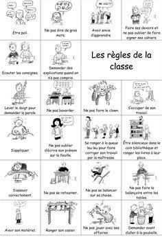 les regles de l 233 cole 201 cole vocabulaire fran 231 ais et salle de classe
