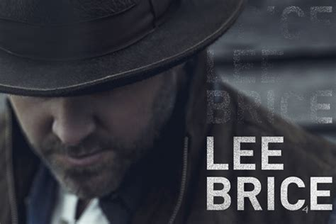 Lee Brice Reveals Track Listing, Writer Credits For Fourth