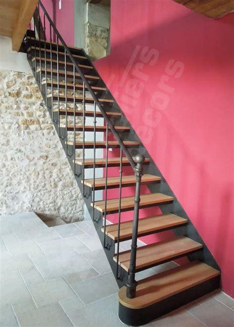 les 25 meilleures id 233 es de la cat 233 gorie escalier en fer forg 233 sur re en fer forg 233