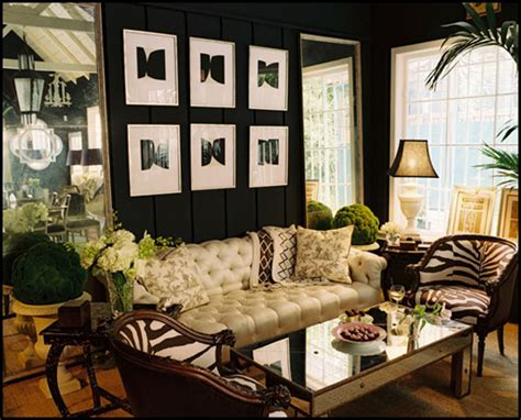 color roundup using black in interior design the