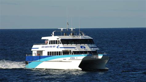 Catamaran Block Island by New Block Island Ferry Gets Mixed Reaction New England