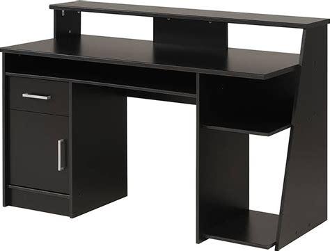 Black Corner Computer Desk by Black Wood Corner Computer Desk Overstock Review And Photo