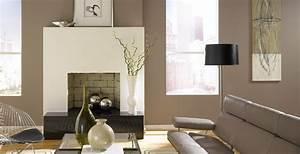 Wohnzimmer Wandfarbe Sand : w nde mit farbe streichen ideen f r trendige farbduos ~ Markanthonyermac.com Haus und Dekorationen