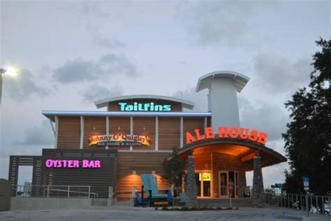 the front of the building picture of tailfins ale house