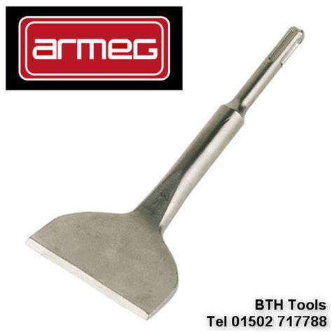 armeg sds plus floor wall tile removing remover 80mm wide chisel g80sdstr ebay