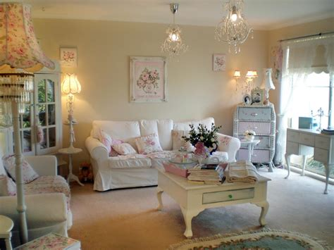 Shabby Chic Decor Ideas Living Room : Living Room And Dining Room