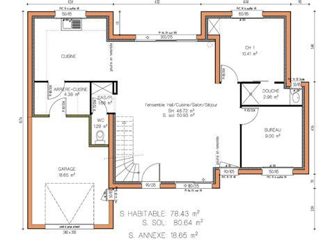 exemple de plan maison marocaine gratuit ventana
