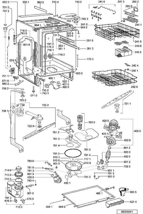 vues 233 clat 233 es et pi 232 ces d 233 tach 233 es whirlpool lave vaisselle adg8442nb 854244229730