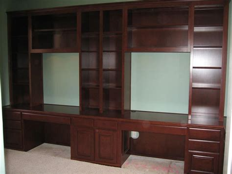 Home Office Cabinets Built In Trend  Yvotubecom
