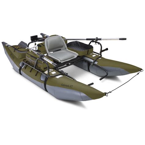 Pontoon Boat Tubes by The Colorado Xt Pontoon 148597 Boats At Sportsman S Guide