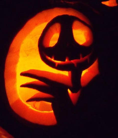 Jack And Sally Pumpkin Stencil Free by Jack The Pumpkin King By Thepoisoncrumpet On Deviantart