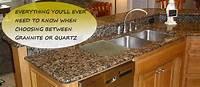 quartz vs granite countertops Quartz vs Granite Countertops Comparison - Countertops HQ