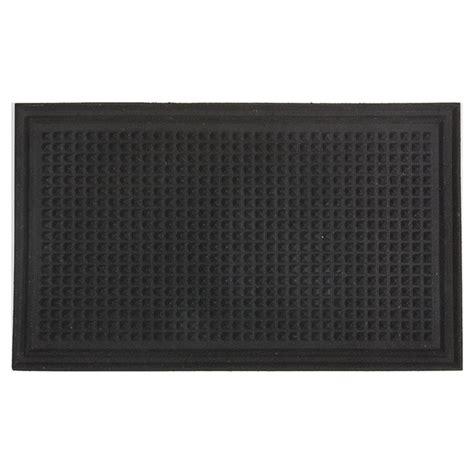 tapis en caoutchouc recycl 233 pour l ext 233 rieur noir rona