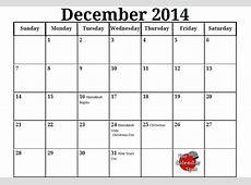 Printable Dec Calendar » Calendar Template 2018
