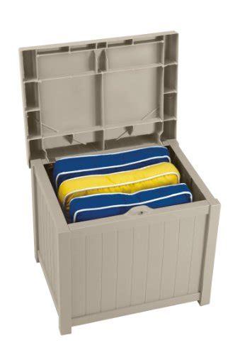 Suncast Patio Storage Seat by Suncast Ss1000 Storage Seat Review Crossing