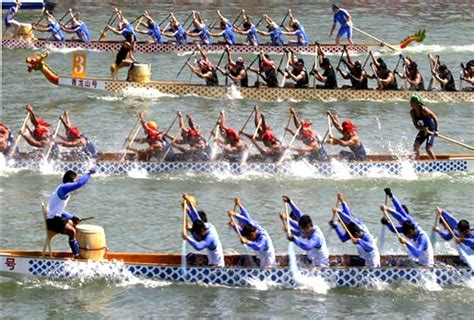 Dragon Boat Racing How To by The Custom Of Dragon Boat Festival 171 Festivals Customs