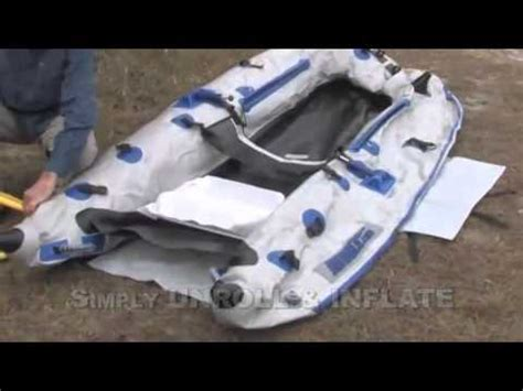 Inflatable Pontoon Boats Youtube by Inflatable Pontoon Boat Pro Package By Sea Eagle Youtube