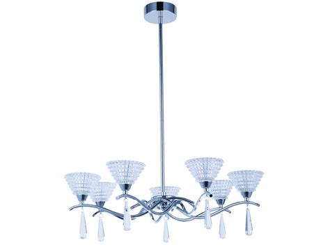 tp24 piccadilly holloway 5x3w led pendentif chrome verre