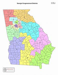 Government - Georgia Congressional Districts Statewide Map ...