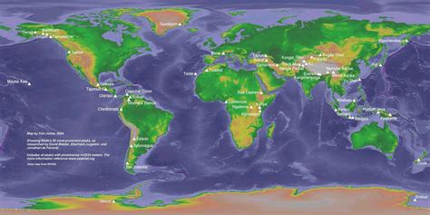 mountain ranges of the world map inside mountains besttabletfor me