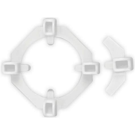 3 16 Tile Spacers Home Depot by Qep 3 16 In Horseshoe Tile Spacers Pail Of 100 10322q
