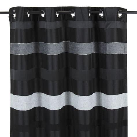rideau raye noir et blanc maison design sphena