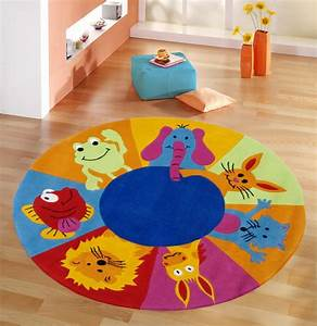 Runder Teppich Wolle : runder kinderteppich runder kinderteppich von kids concept und pumpkin kids runder ~ Markanthonyermac.com Haus und Dekorationen