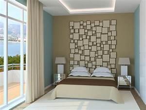 Wohnzimmer Wandfarbe Sand : wandgestaltung mit farbe schlafzimmer ~ Markanthonyermac.com Haus und Dekorationen