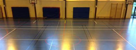 marquage sol sportif dimensions des terrains de gymnase multisport