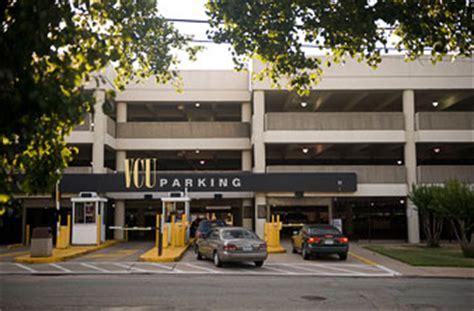 west parking deck vcu maps