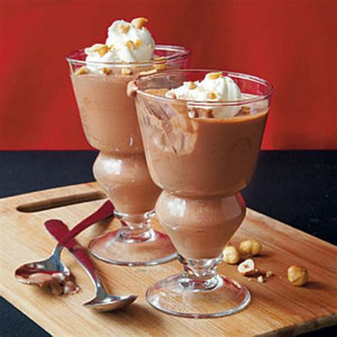 chocolate hazelnut mousse recipe desserts with sugar unsweetened cocoa powder corn starch