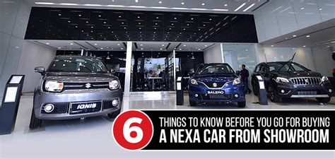 6 Things To Check Before Buying A Nexa Car From Showroom