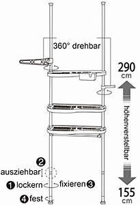 Regal Für Waschmaschine : badregal teleskopregal wc bad waschmaschine regal 3 ablagen new bz4109 bz4110 ebay ~ Markanthonyermac.com Haus und Dekorationen