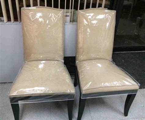 Plastic Seat Covers For Dining Room Chairs by Plastic Dining Room Chair Covers Decor Ideasdecor Ideas