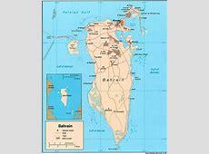 ABC Maps of Bahrain; Flag, Map, Economy, Geography