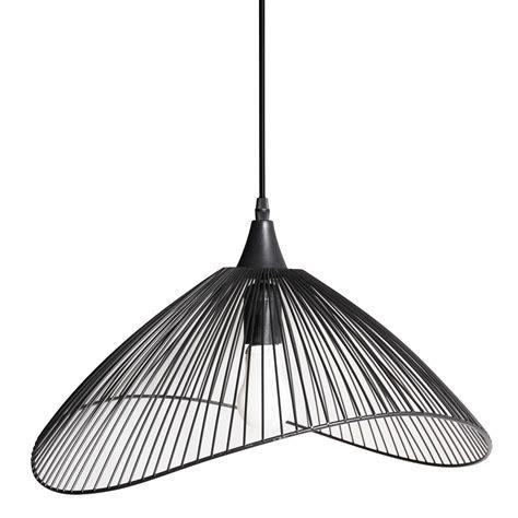 suspension design kasteli m 233 tal noir 1 x 40 w seynave leroy merlin