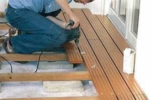 Entkopplungsmatte Auf Holz Verlegen : terrasse holz verlegen abstand ~ Markanthonyermac.com Haus und Dekorationen