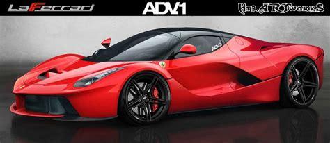 Ferrari Laferrari On Adv.1 Wheels