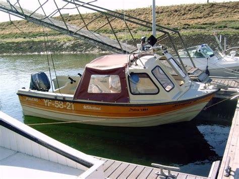 Kajuit Visboot Te Koop by Zeevisland