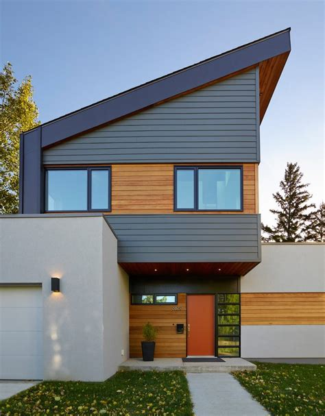 Iron Gray Hardie Exterior Contemporary With Modern