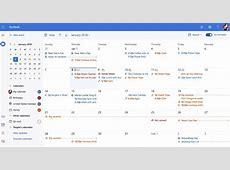 Microsoft announces redesigned Outlookcom calendar