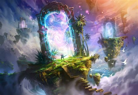 Fantastic World Portal Magical F Wallpaper  1920x1324  179107 Wallpaperup