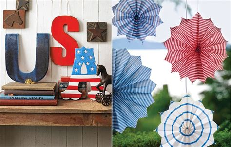 Home Decor For 4th Of July : 4th Of July Home Decorating Ideas