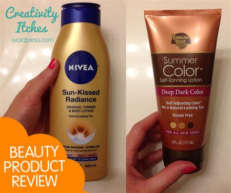 Can You Use Banana Boat Self Tanner On Face by Review Sunless Tanning Lotions Tips Creativity Itches