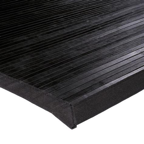 grand tapis bambou pas cher noir 200x290cm monbeautapis
