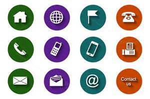 12 round contact icons ~ Icons on Creative Market